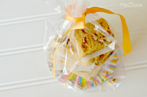 Fudge wrapped as gifts