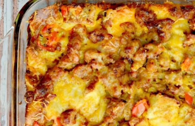 breakfast casserole Hip2Save