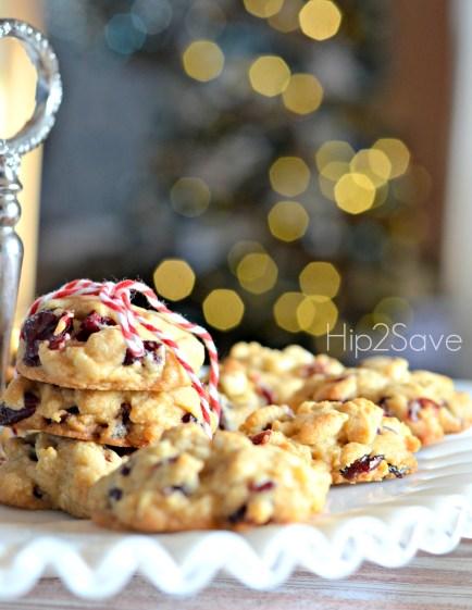 cranberry cookies Hip2Save