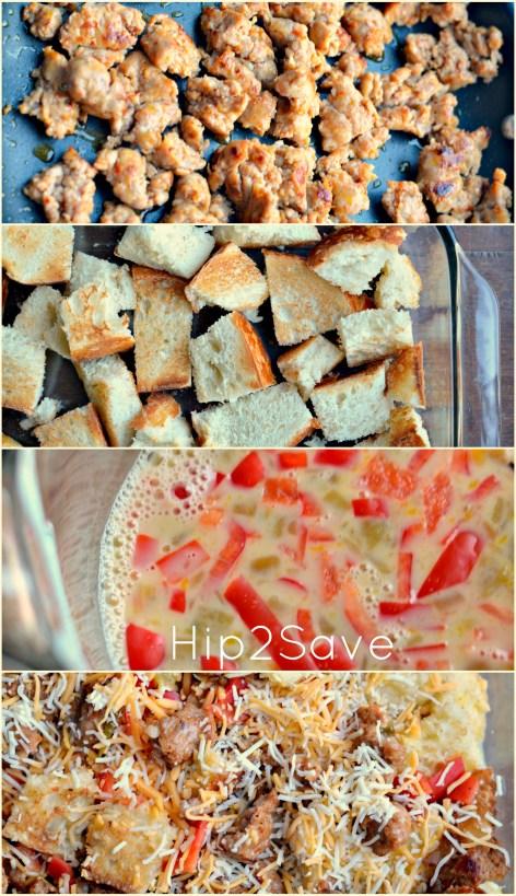 Easy breakfast casserole hip2save