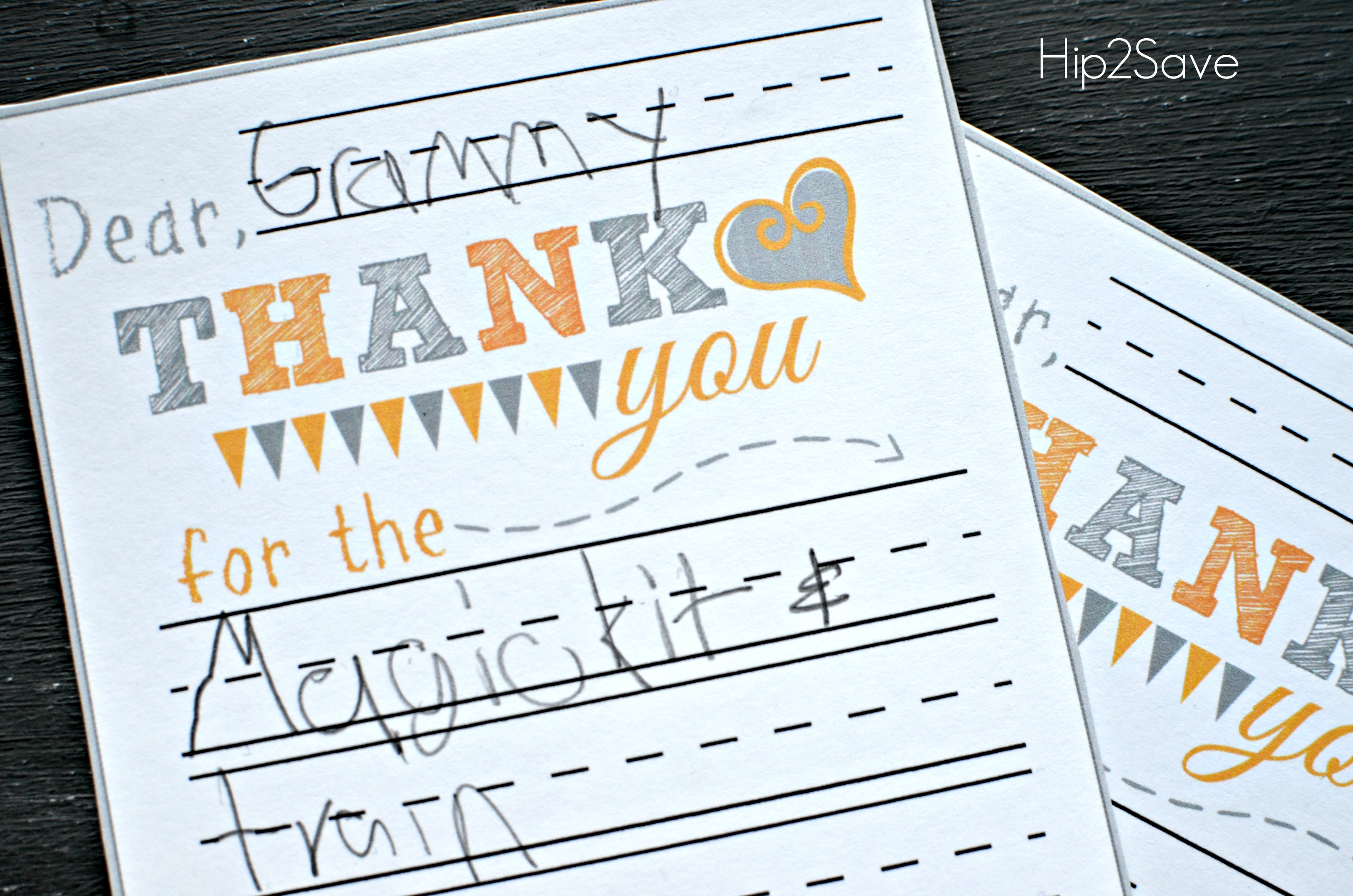 It's just a picture of Simplicity Printable Thank You Cards for Kids