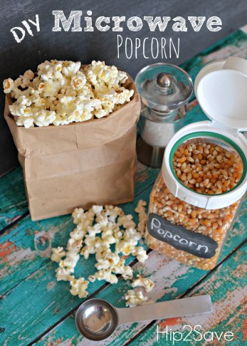 DIY Microwave Popcorn Hip2Save