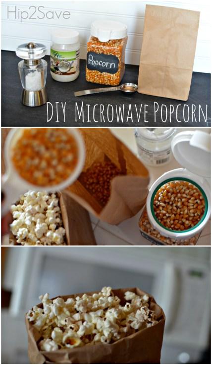 How to make Microwave Popcorn Hip2Save