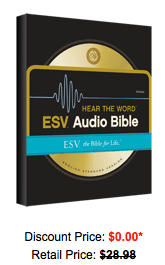 FREE ESV Audio Bible Download ($29 98 Value!) - Hip2Save