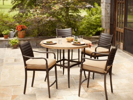 9d828bee31f22 Home Depot  Up to 75% Off Select Patio Dining Sets - Hip2Save