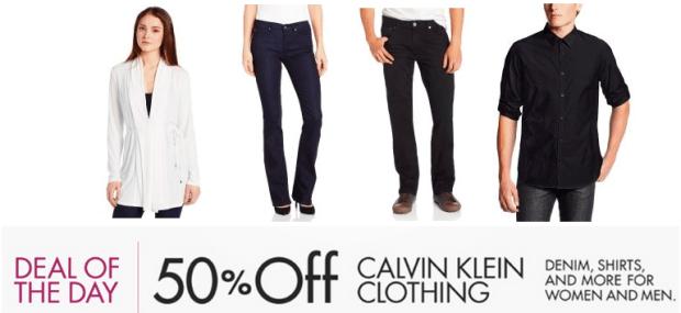 b99b369ab9f1d Amazon  50% Off Calvin Klein Clothing For Men and Women (Denim ...