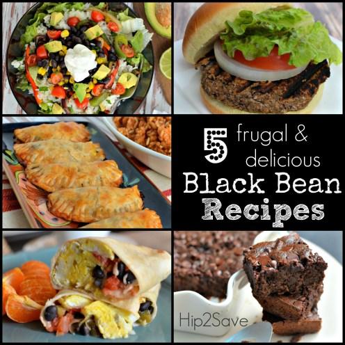 5 Frugal & Delicious Black Bean Recipes Hip2Save