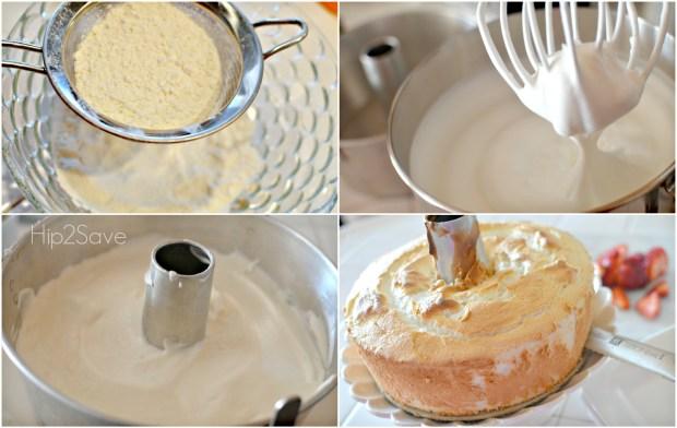 How to make an angel food cake Hip2Save