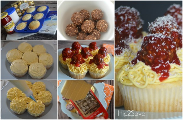 How to make spaghetti and meatball cupcakes Hip2Save