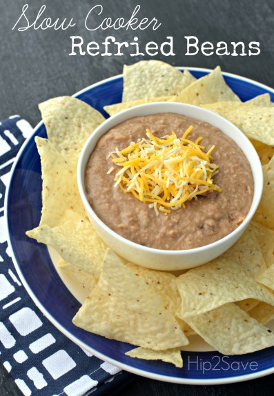 Slow Cooker Refried Beans Hip2Save