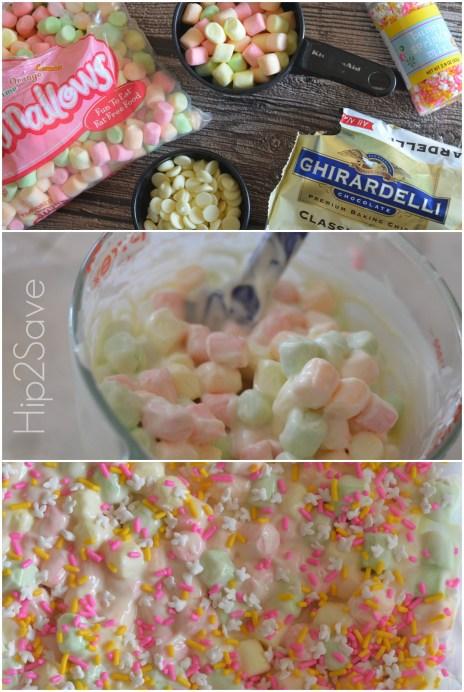 How to make chocolate marshmallow bark Hip2Save