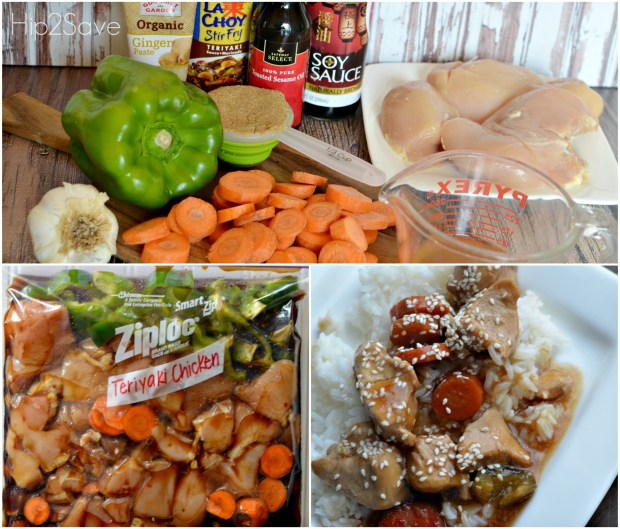 Teriyaki Chicken Freezer Bag Meal Hip2Save.com