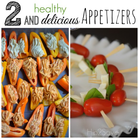 2 Healthy and delicious Appetizers Hip2Save