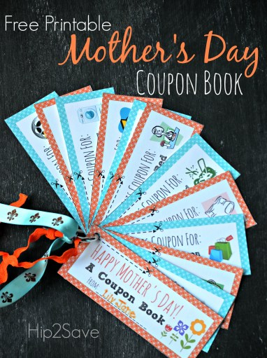 Free Printable Mother's Day Coupon Book Hip2Save