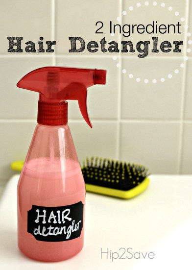 Homemade Hair Detangler Spray (Only 2 Ingredients) - Hip2Save 63dc8c6c7d13