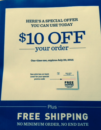 L L Bean Possible 10 Off Any 10 Order Coupon Check Your Mailbox