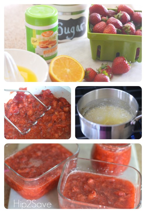 How to make freezer jam Hip2Save