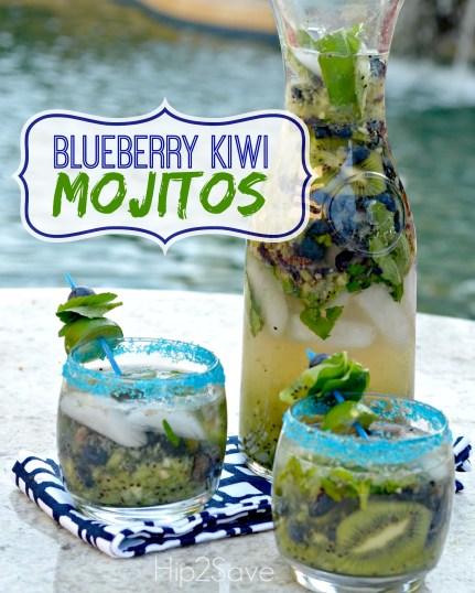 Blueberry Kiwi Mojitos Hip2Save