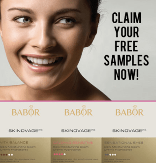 Mon cheri free samples giveaways skincare promotion my.