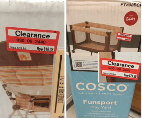 Target Clearance Cosco High Chair Only 1998 Reg 3999