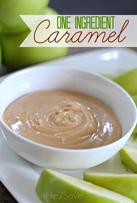 One Ingredient Caramel Hip2Save