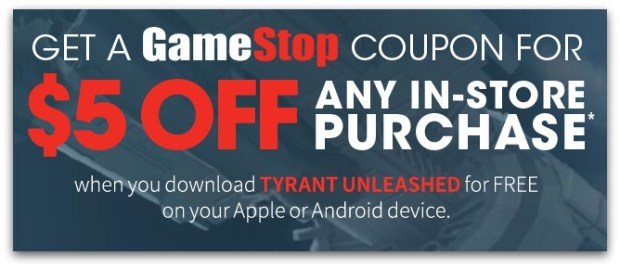 Gamestop Free 5 Off Any 5 In Store Purchase Coupon