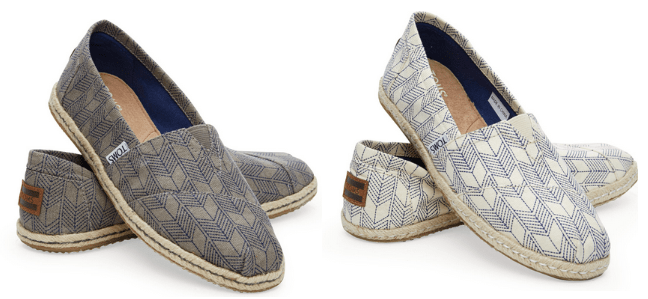TOMS Shoes: $5 Off a $25+ Purchase (Use Promo Code ...