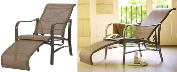 martha stewart living reclining patio