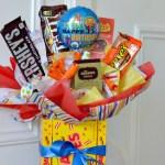 Diy Candy Bouquet Fun Easy Gift Idea Hip2save