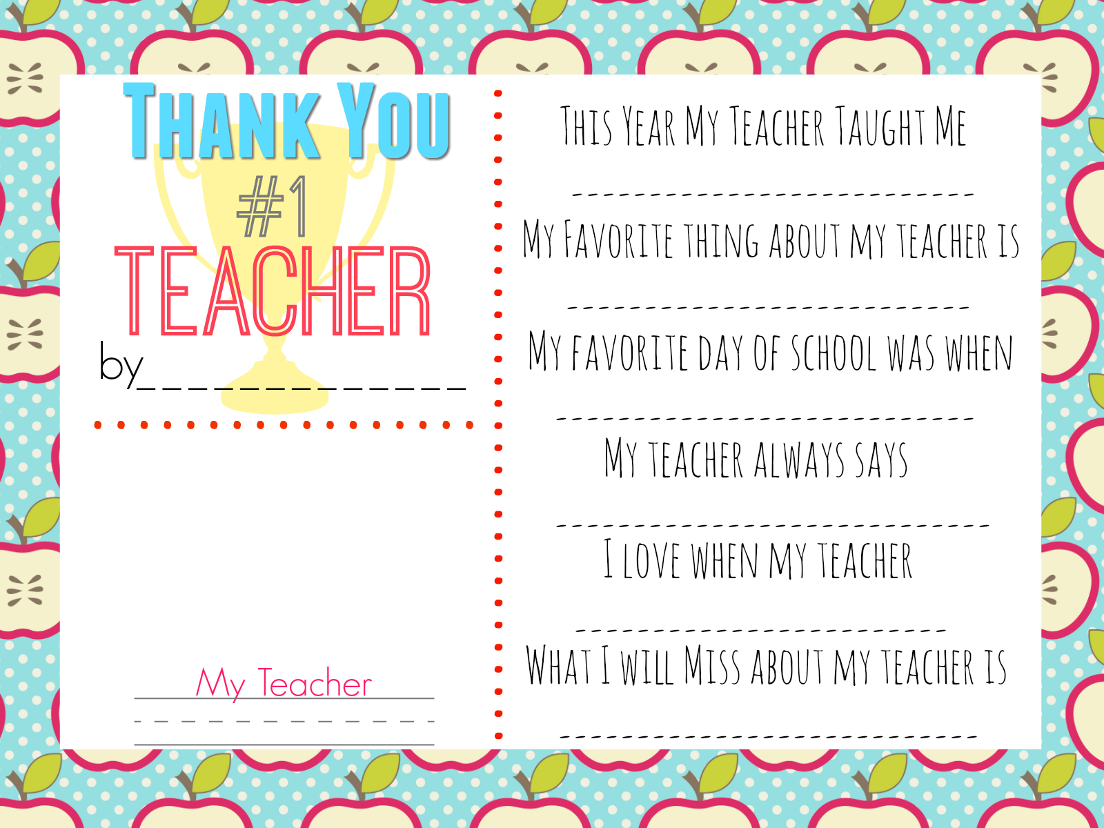 10 Teacher T Ideas W Free Printable T Tags