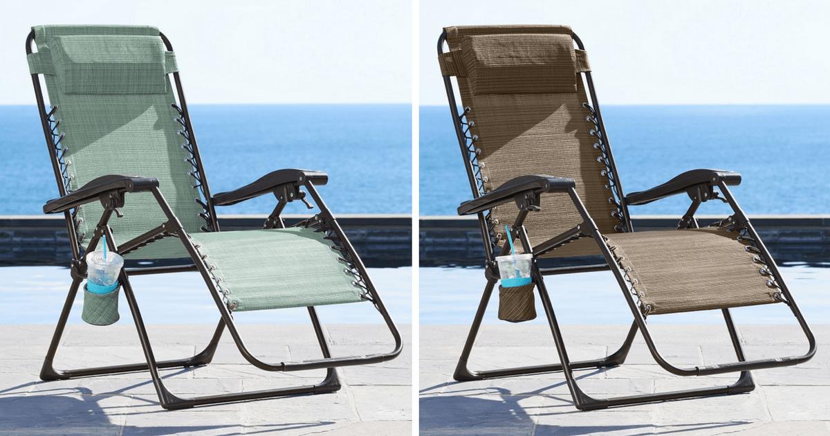 Kohls Sonoma Antigravity Chairs ONLY 3399 Regularly