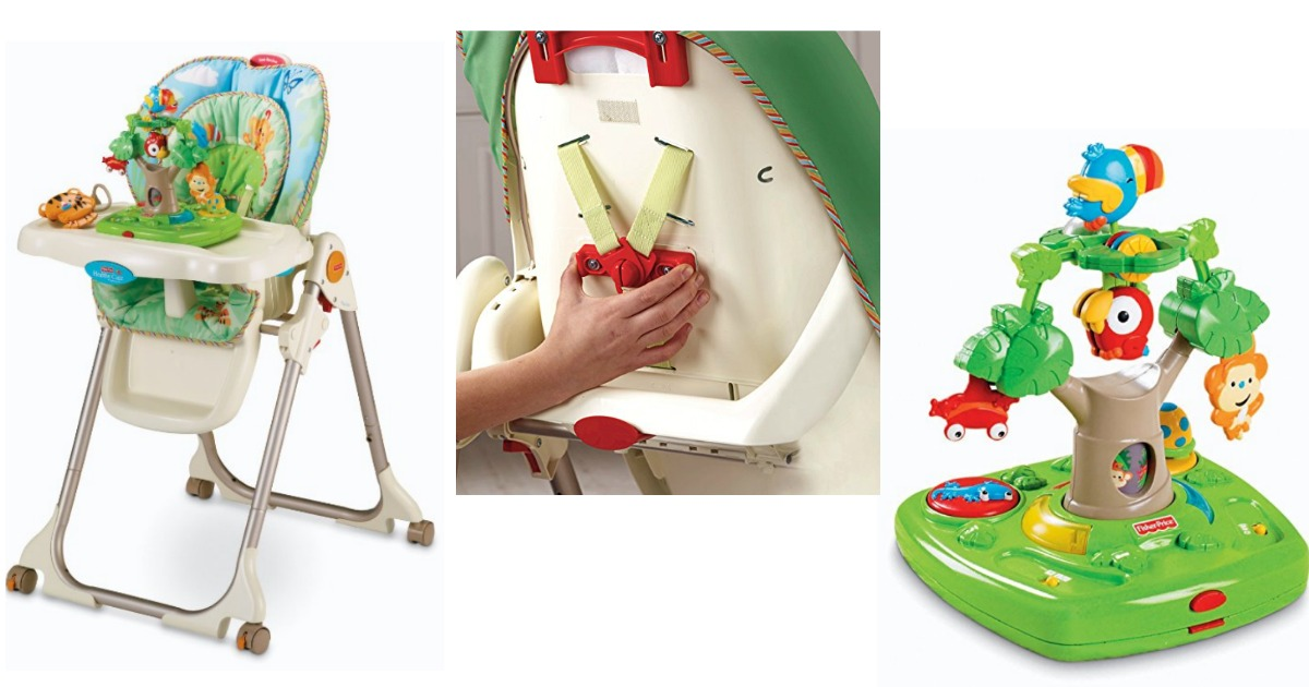 fisher price rainforest healthy care high chair 2 office kogan amazon only 77 34 regularly 139 99 hip2save