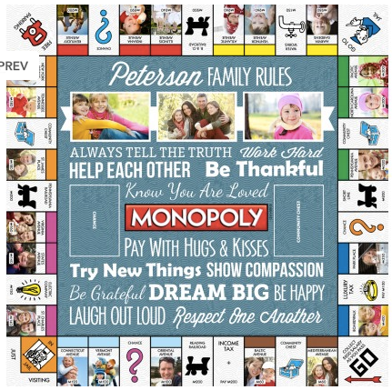targetphoto personalized monopoly or