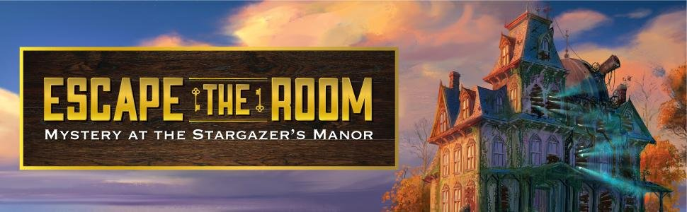 Escape The Room Stargazer S Manor Board Game Only 9 99