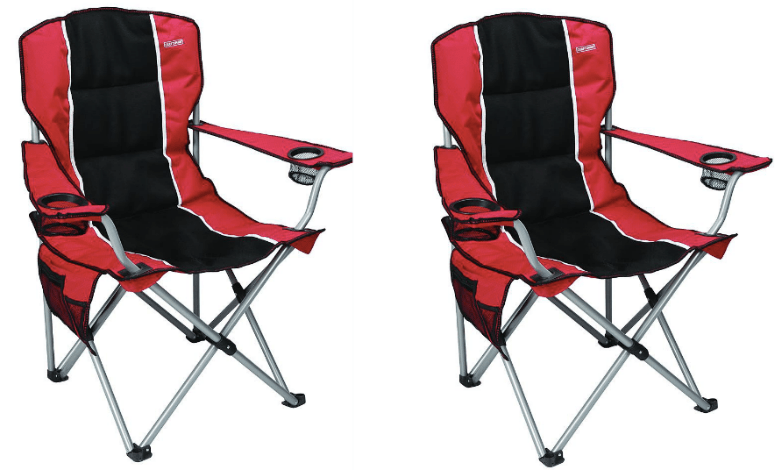 padded camping chair cow print chairs sears craftsman folding only 19 99 regularly this has two built in cup holders a foam seat and comes with carrying case choose free store pickup if available at near you or
