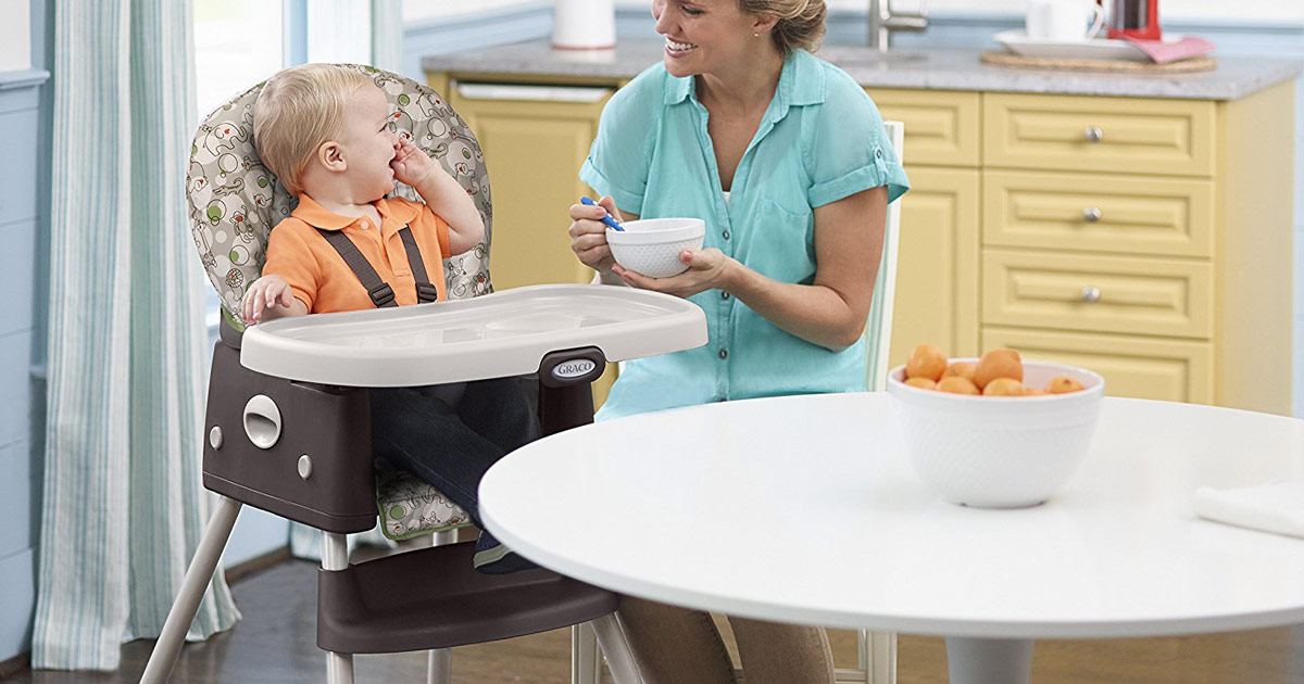 graco high chair coupon sideline chairs for basketball simpleswitch portable and booster only 38 98 shipped regularly 80