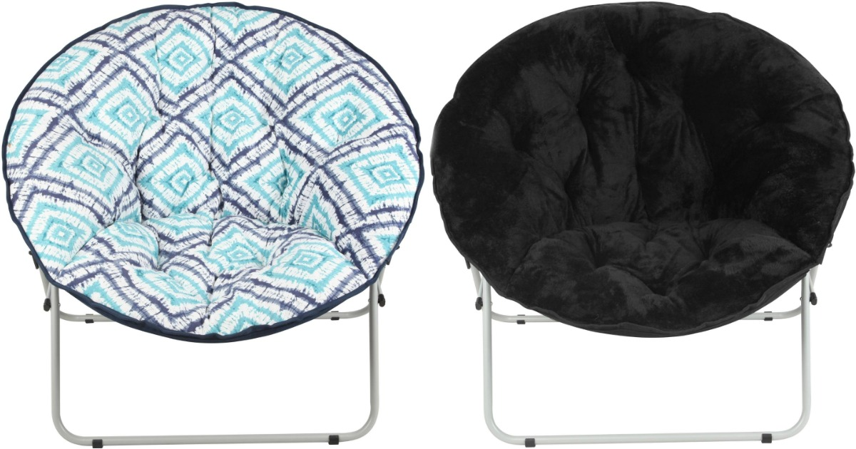 saucer chairs sam s club hanging chair online walmart.com: mainstays oversize only $19.97 (regularly $30) - hip2save