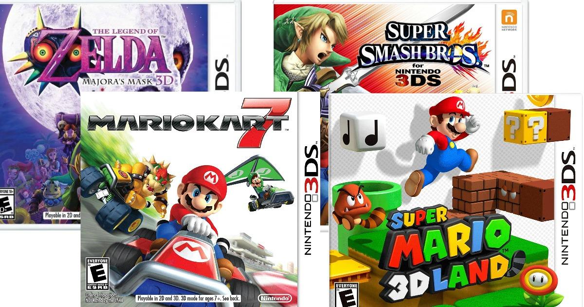 Best Buy Buy 1 Get 1 50 Off Nintendo 3ds Games Zelda