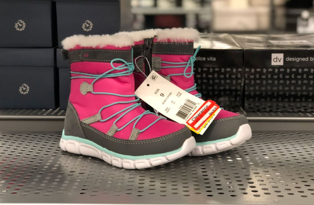 Stride Rite Toddler Girl Boots