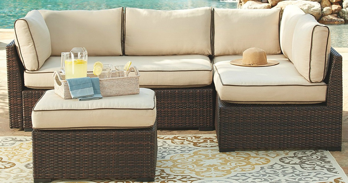 ashley furniture outdoor sectional set