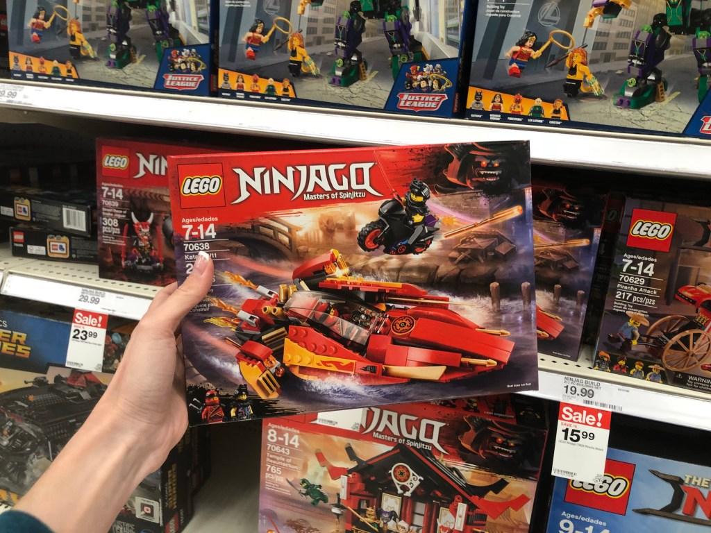 20 Off LEGO Sets Including Cars 3 Disney Princess