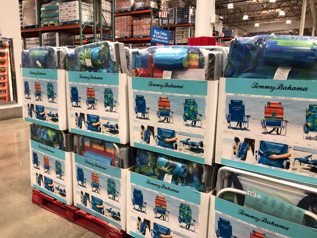 Backpack Beach Chair Costco Tommy Bahama Backpack Beach Chairs Just 23 99 At Costco