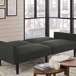 Target Com Room Essentials Linen Futon Only 139 99 Shipped Regularly 200 Hip2save