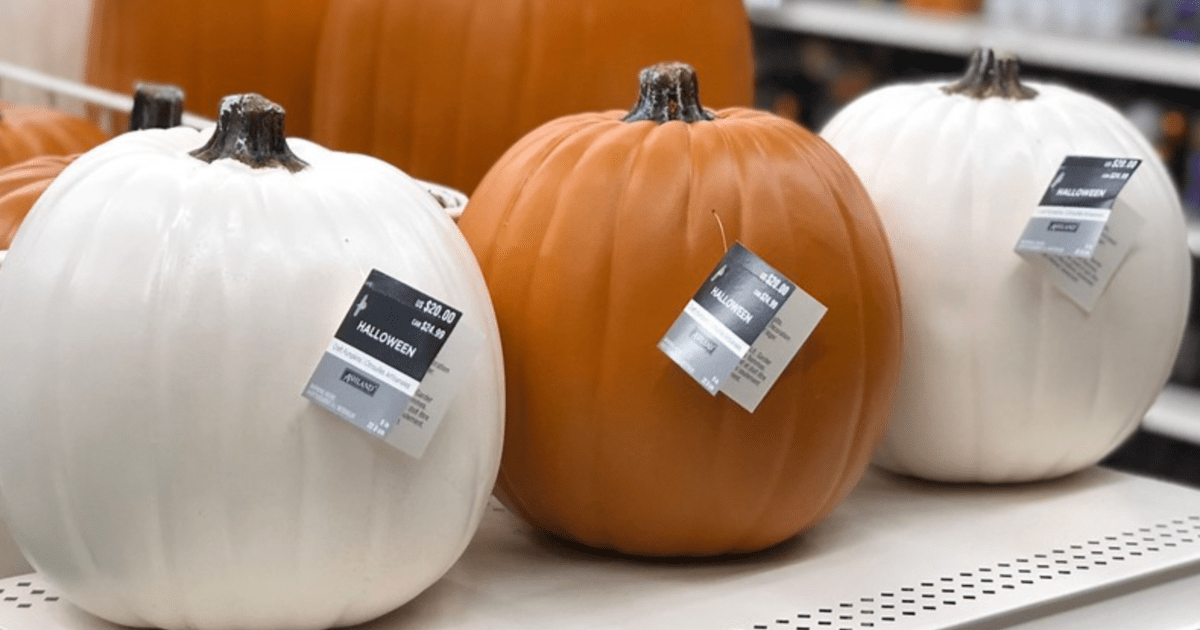 25 Off Entire Michaels Purchase Including Sale Items 60 Off Craft Pumpkins Hip2save