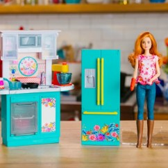Barbie Kitchen Playset Swinging Doors Residential Pre Order Pioneer Woman Just 44 88 Shipped This Comes With A Ree Drummond Inspired And Over 30 Accessories Including Cookware Grocery Items Completed Dishes Desserts