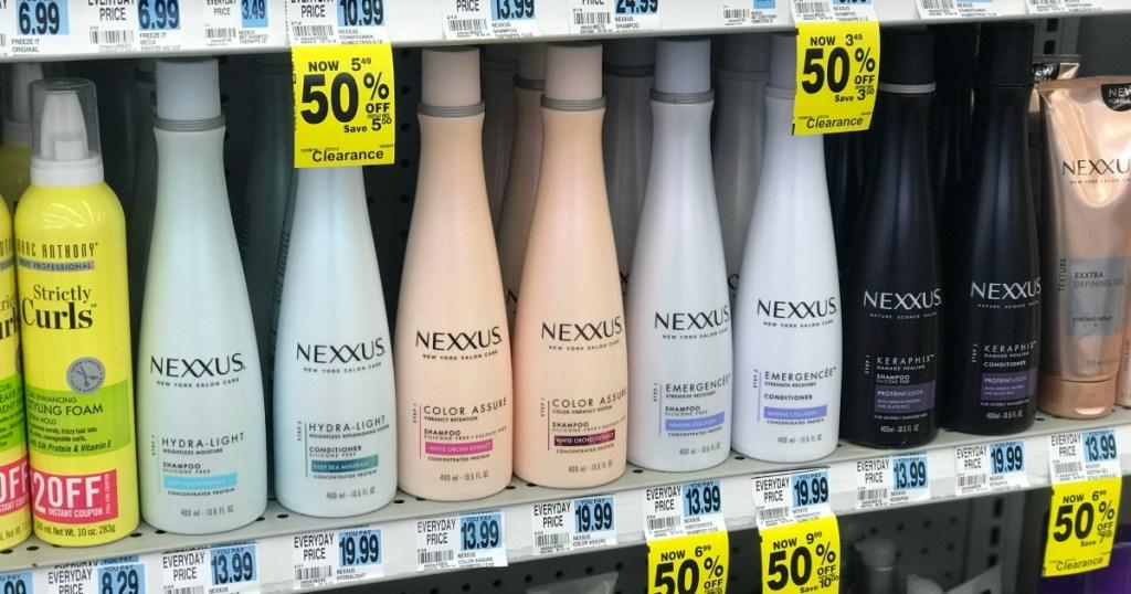 inexpensive nexxus hair care &