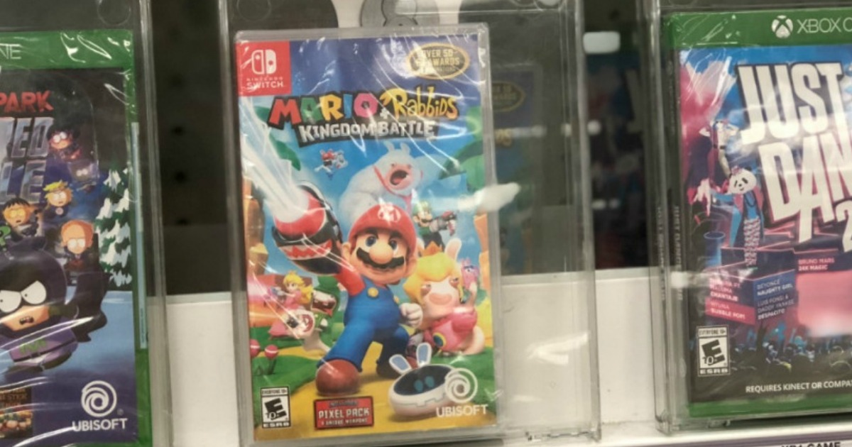Mario Rabbids Nintendo Switch Game Only 14 Shipped For