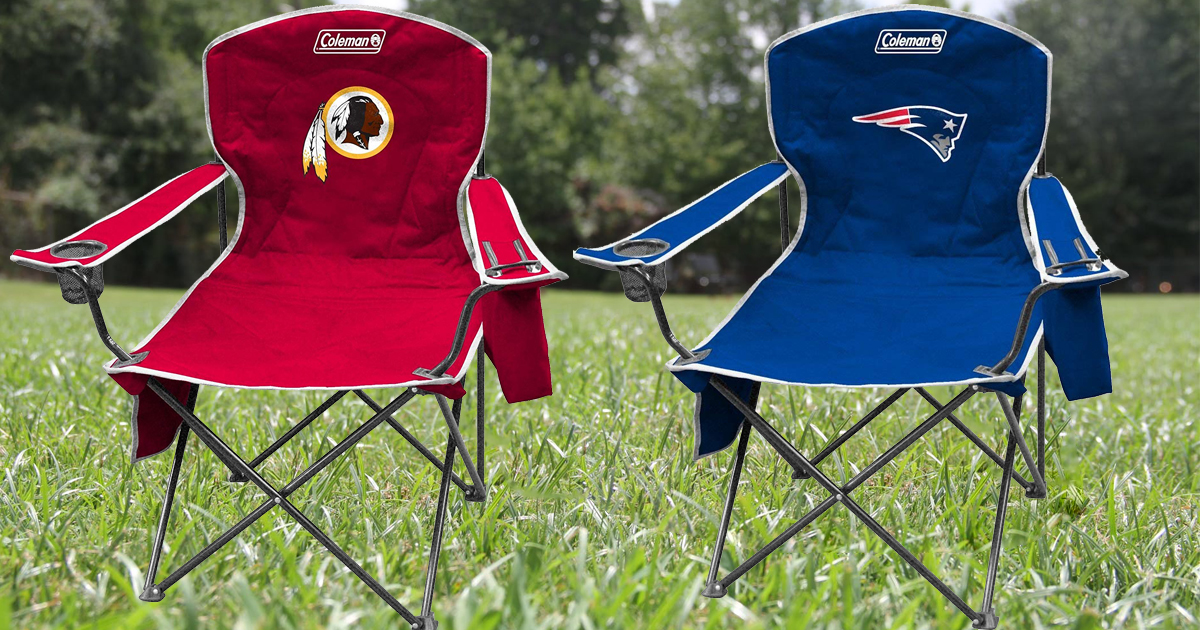 coleman cooler quad chair target hanging afterpay amazon nfl as low 24 shipped hop on over to and score highly rated chairs for 21 regularly 43 30 prices will vary based the