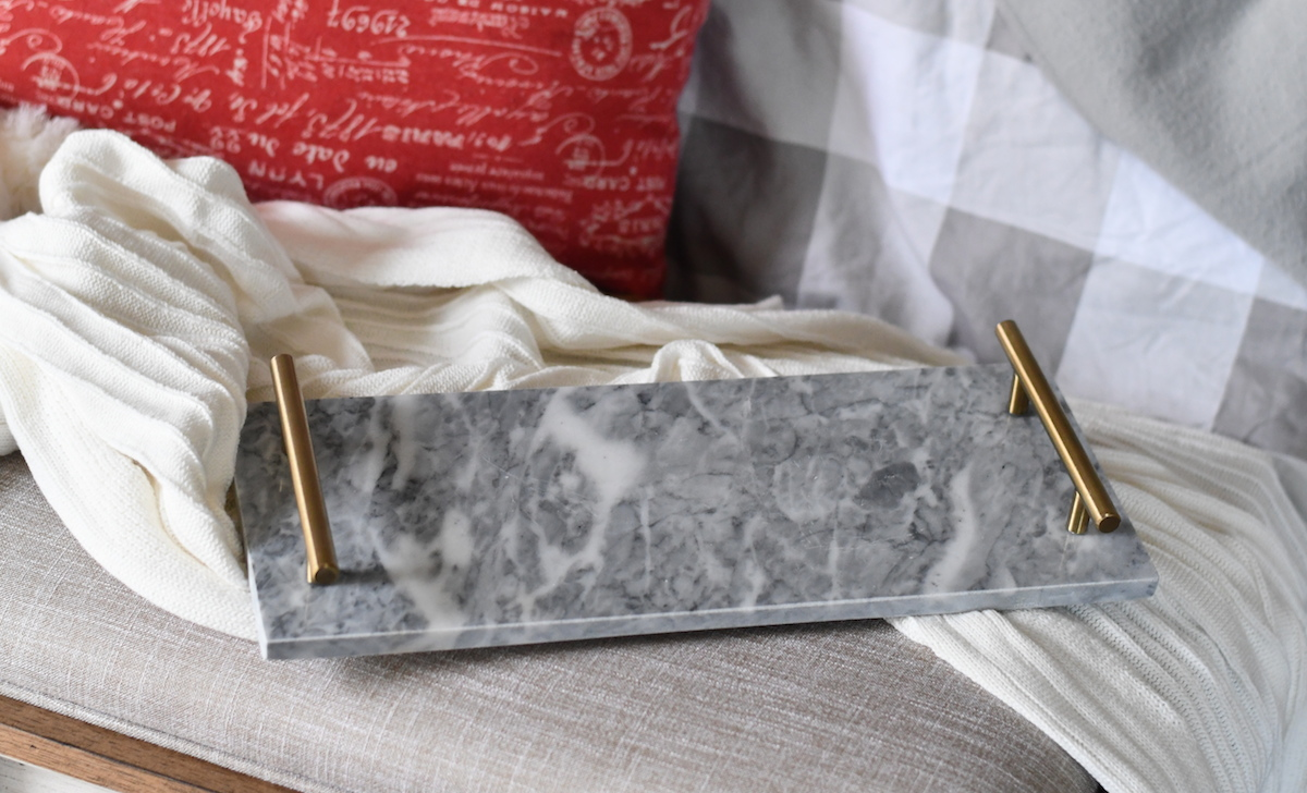 anthropologie copycat finds at target & walmart – marble tray