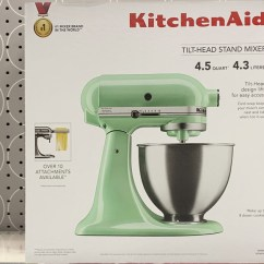 Walmart Kitchen Aid Mixer Linoleum Flooring Kitchenaid 4 5 Quart Stand Possibly Only 99 At Regularly 330